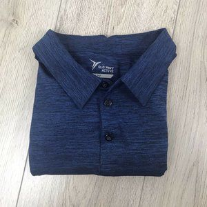 Mens Blue Old Navy Go-Dry Polo Size XL